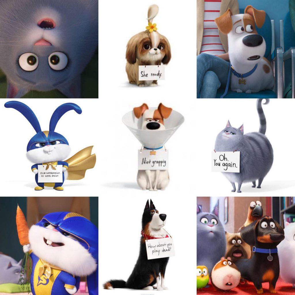 stemmencast huisdierengeheimen 2, universal