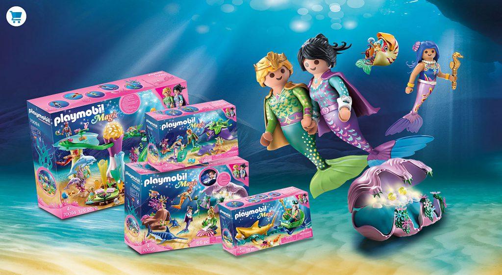 Playmobil, onderwaterwereld, aquarium