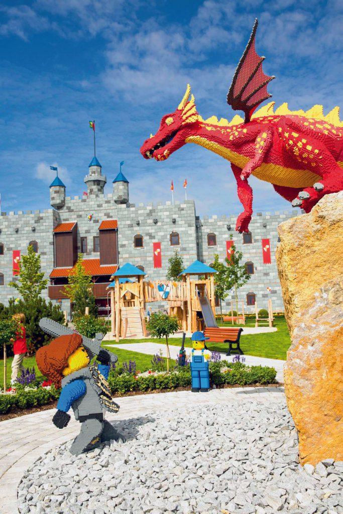 credit LEGOLAND Billund castle hotel