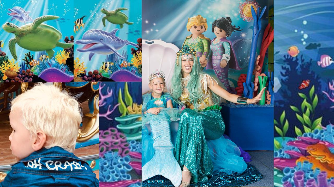 zeemeermin onderwaterwereld themafeest