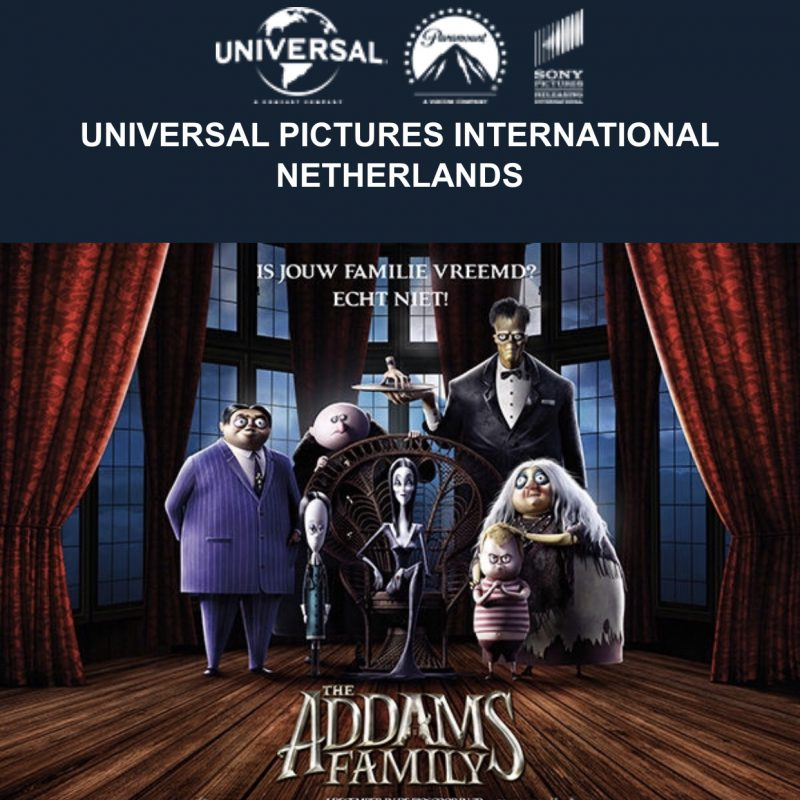 The Addams Family is terug en ging griezelig in première!