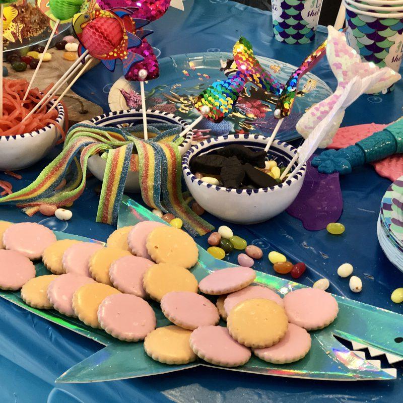 Verjaardagen combineren doe je zo: onderwaterwereld- zeemeermin verjaardagsfeestje