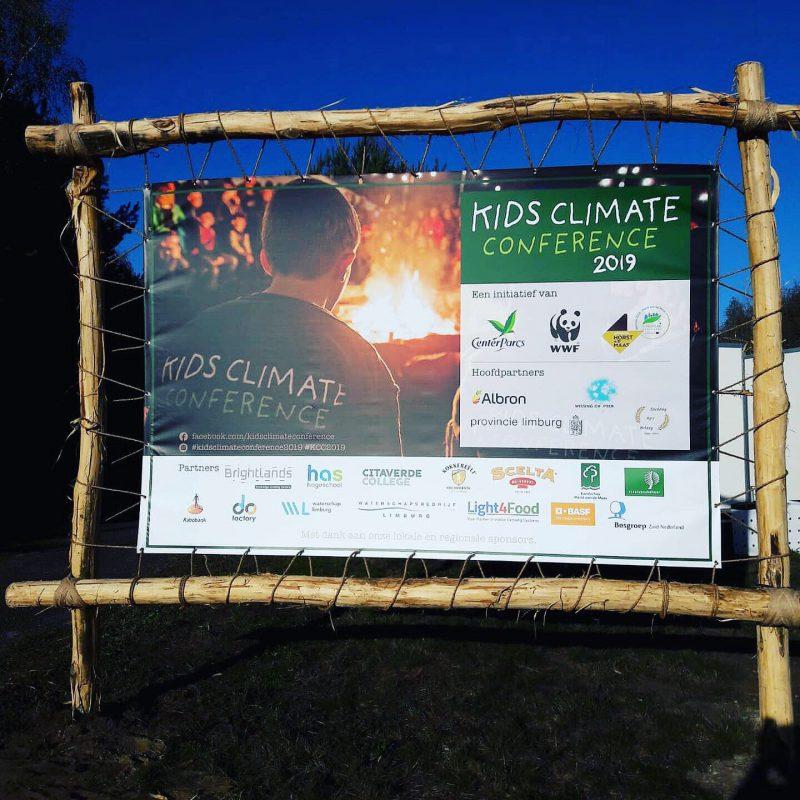 Kids Climate Conference in teken van creatieve oplossingen voor duurzame vraagstukken