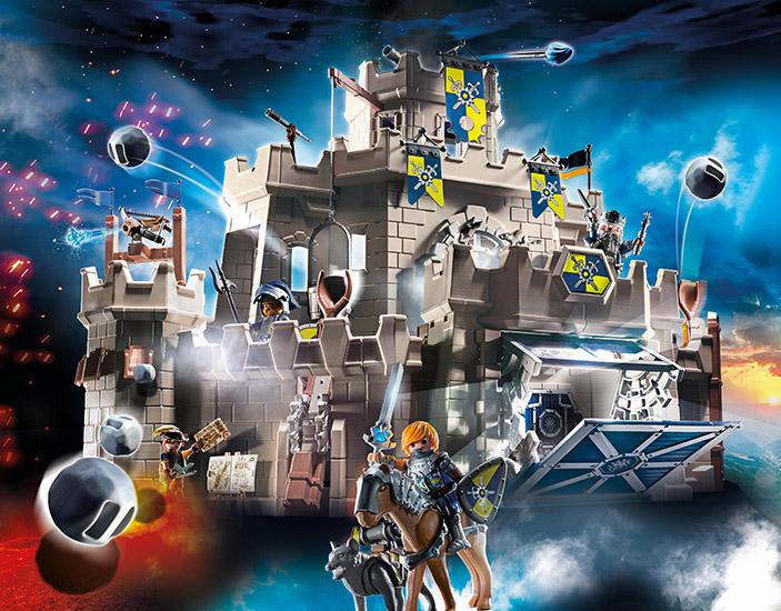 Novelmore ridders of toch buitenspelen? Playmobil stimuleert de fantasie