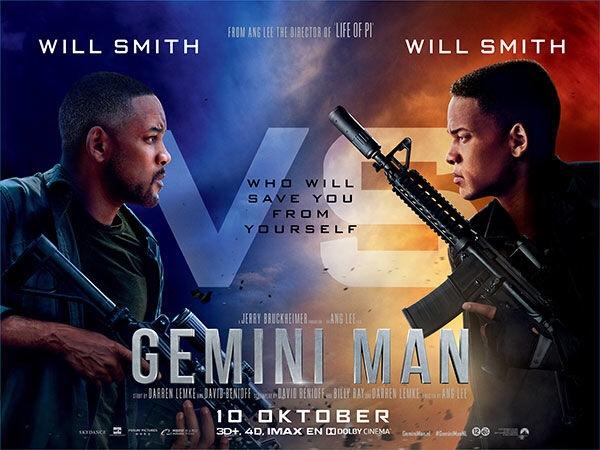 Gemini man met Will Smith