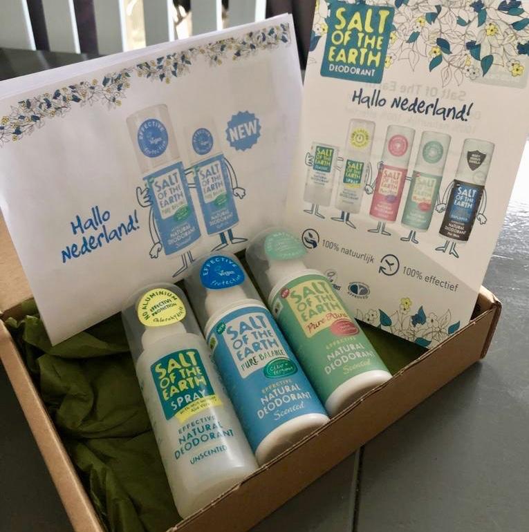 SaltOfThe Earth Deodorant review! Aan deze blog zit een luchtje…