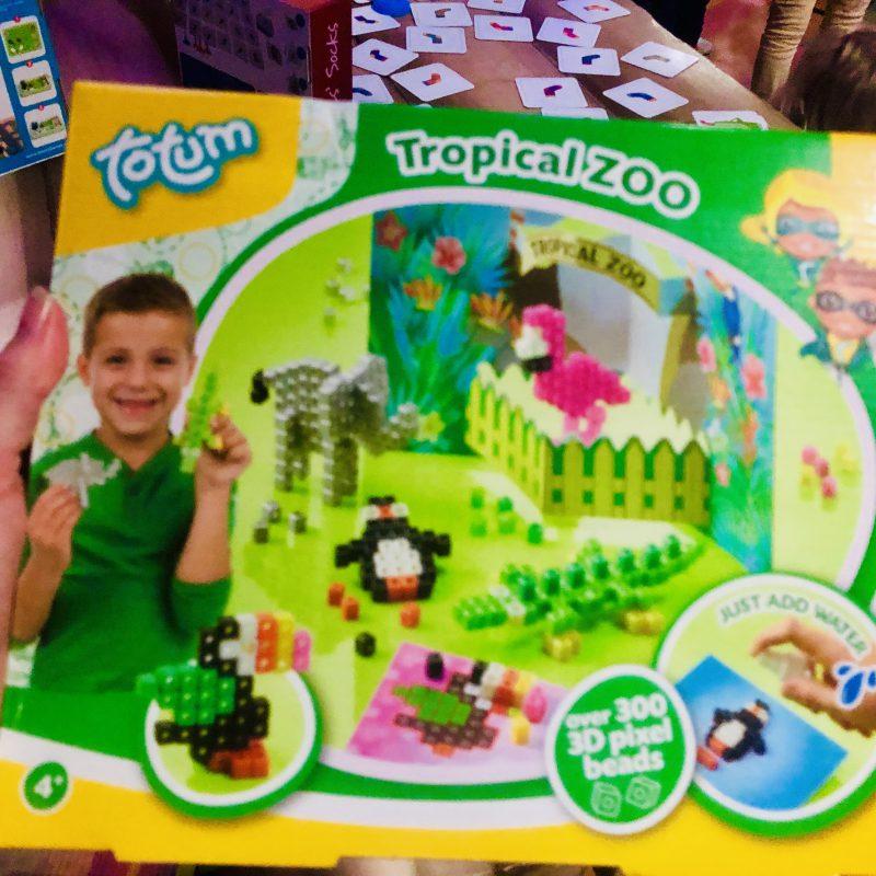 Totum Tropical Zoo 3Dpixel beads: een kanshebber voor speelgoed van het jaar