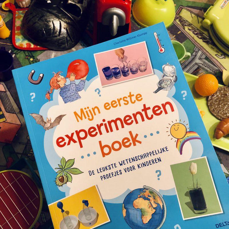 Mijn eerste experimentenboek vol met wetenschappelijke proefjes voor kinderen (5+)