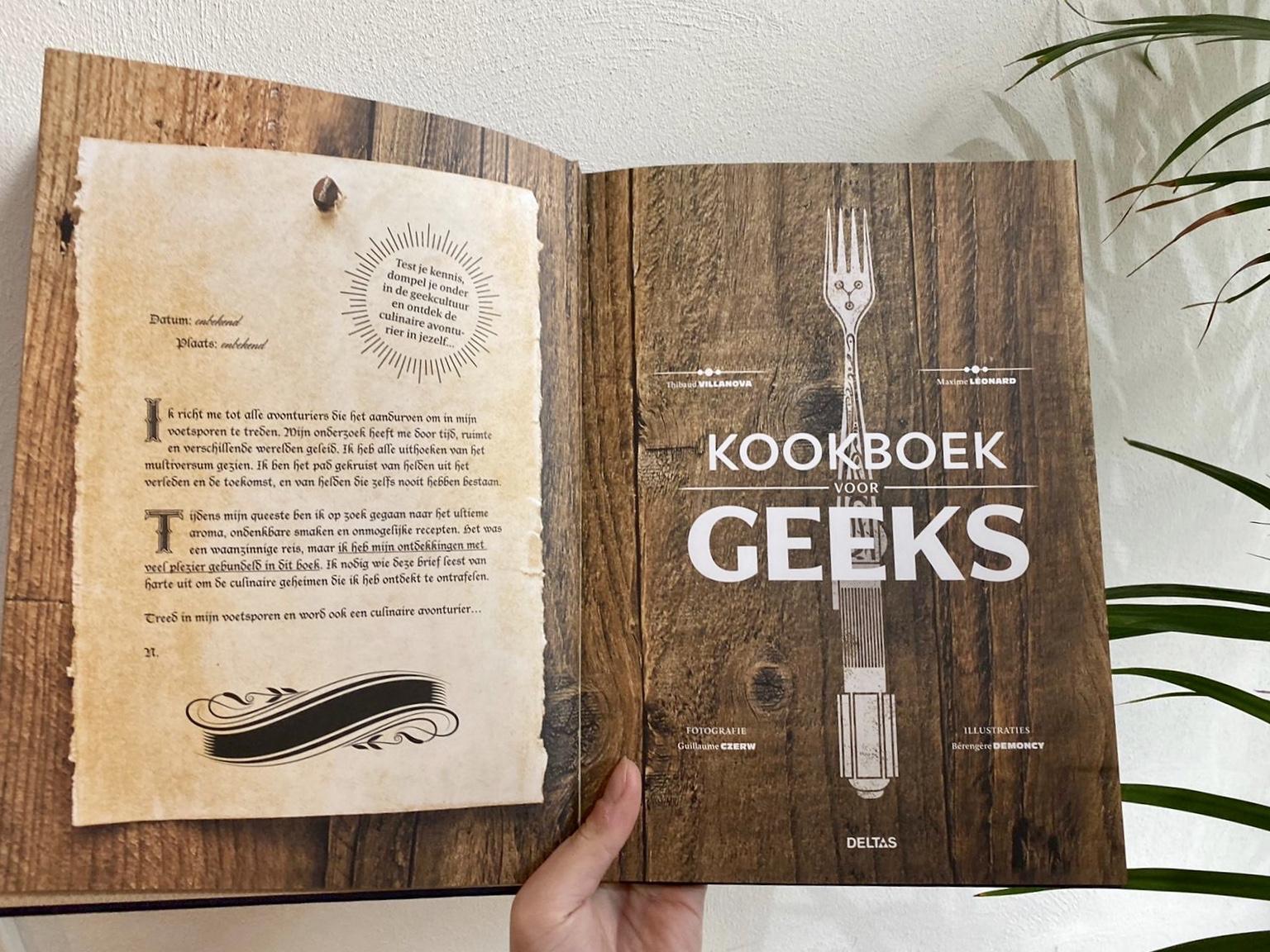 kookboek voor Geeks