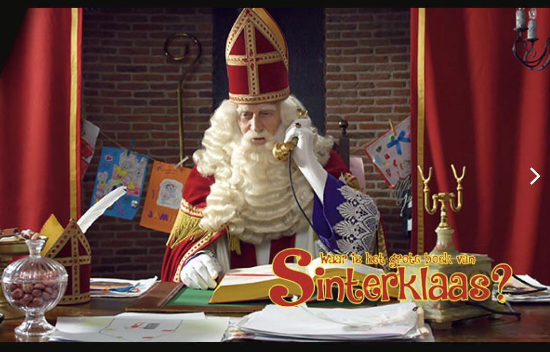 Op zoek naar het boek van Sinterklaas bij Vue's Mini Mornings