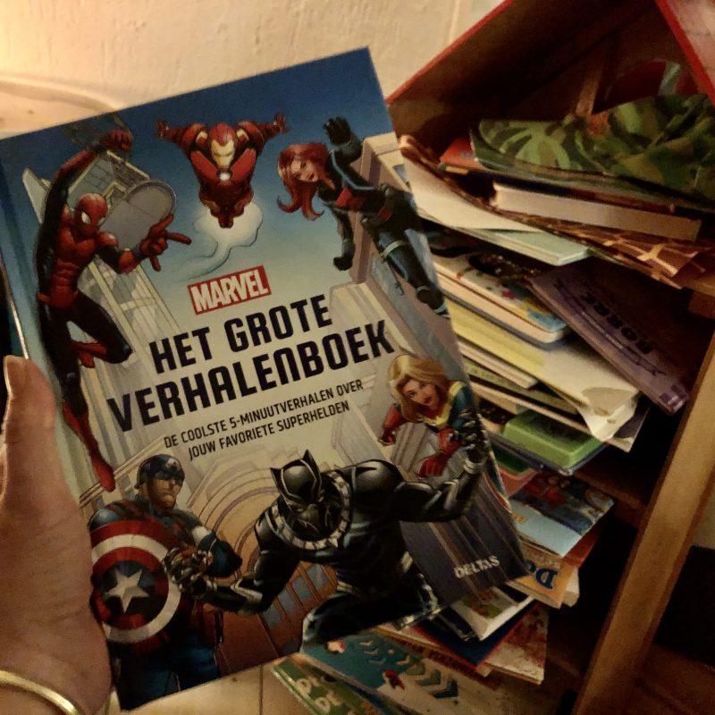 Hét (voor)leesboek voor kleine superhelden. Ons voorleesritueel krijgt vleugels