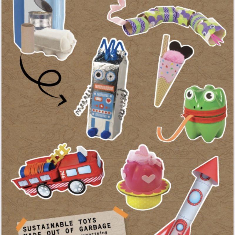 Recyclen, maar dan leuk. Leer kinderen te recyclen met Re-Cycle-Me!
