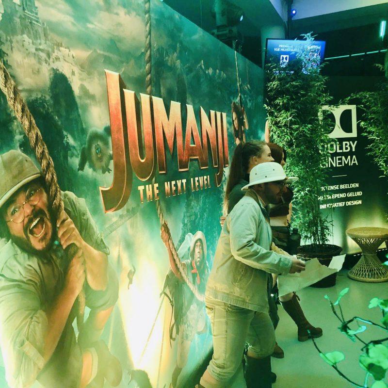 "Extra spannende momenten in ""Jumanji: the next level"" die feestelijk in première ging"