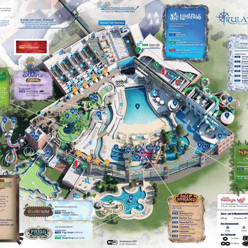 """Het zwemparadijs Rulantica nabij Europa-Park is open! """"Here we come!"""""""