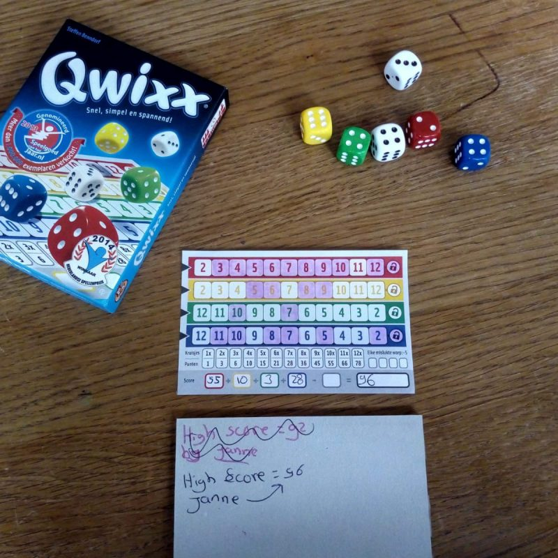 Het Qwixx dobbelspel! Is dit spelletje echt zo leuk?