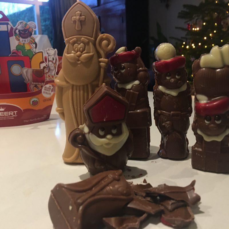 Elke dag chocola omdat het zo goed voor je is ;-)
