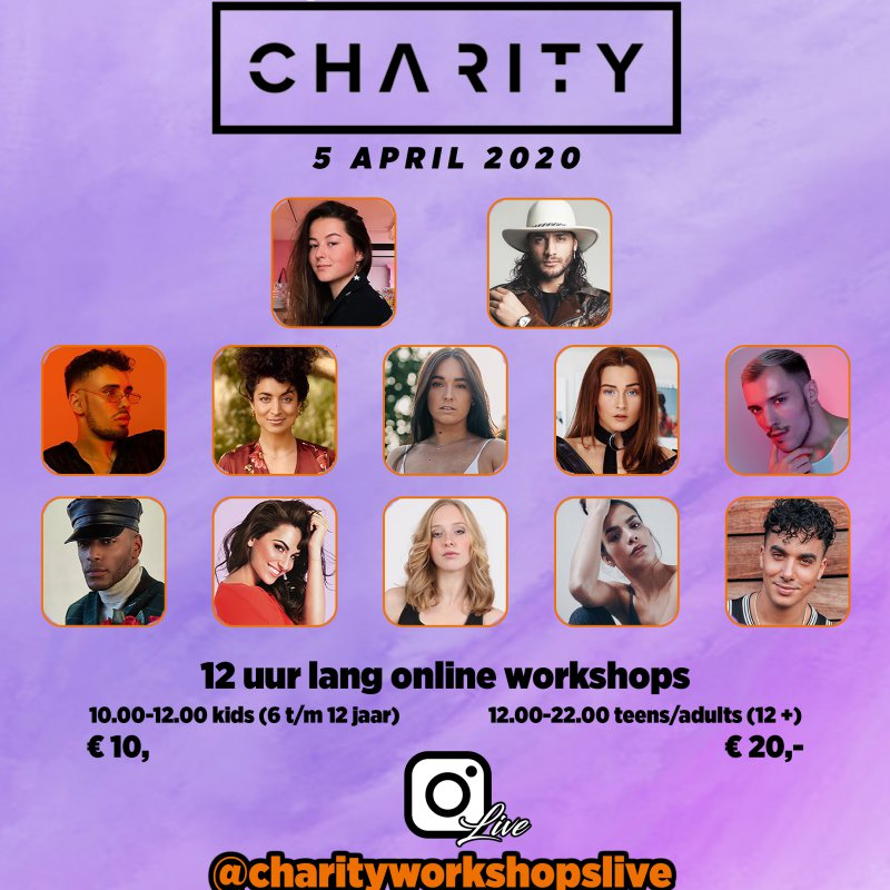 Charity Workshops: dansworkshops voor het goede doel! Dans je mee?