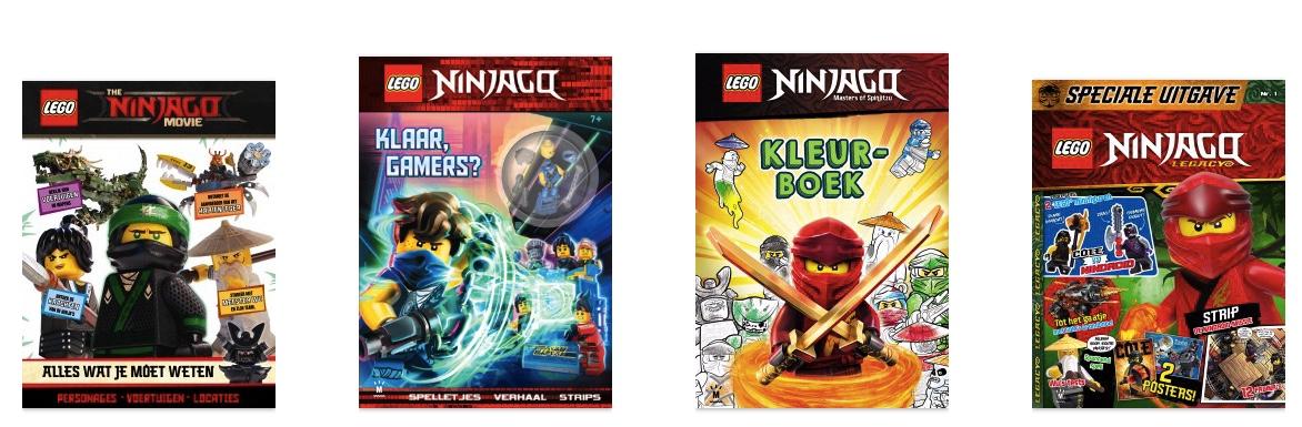 Top 11 Ninjago boeken waar je kleine fan dolblij van wordt
