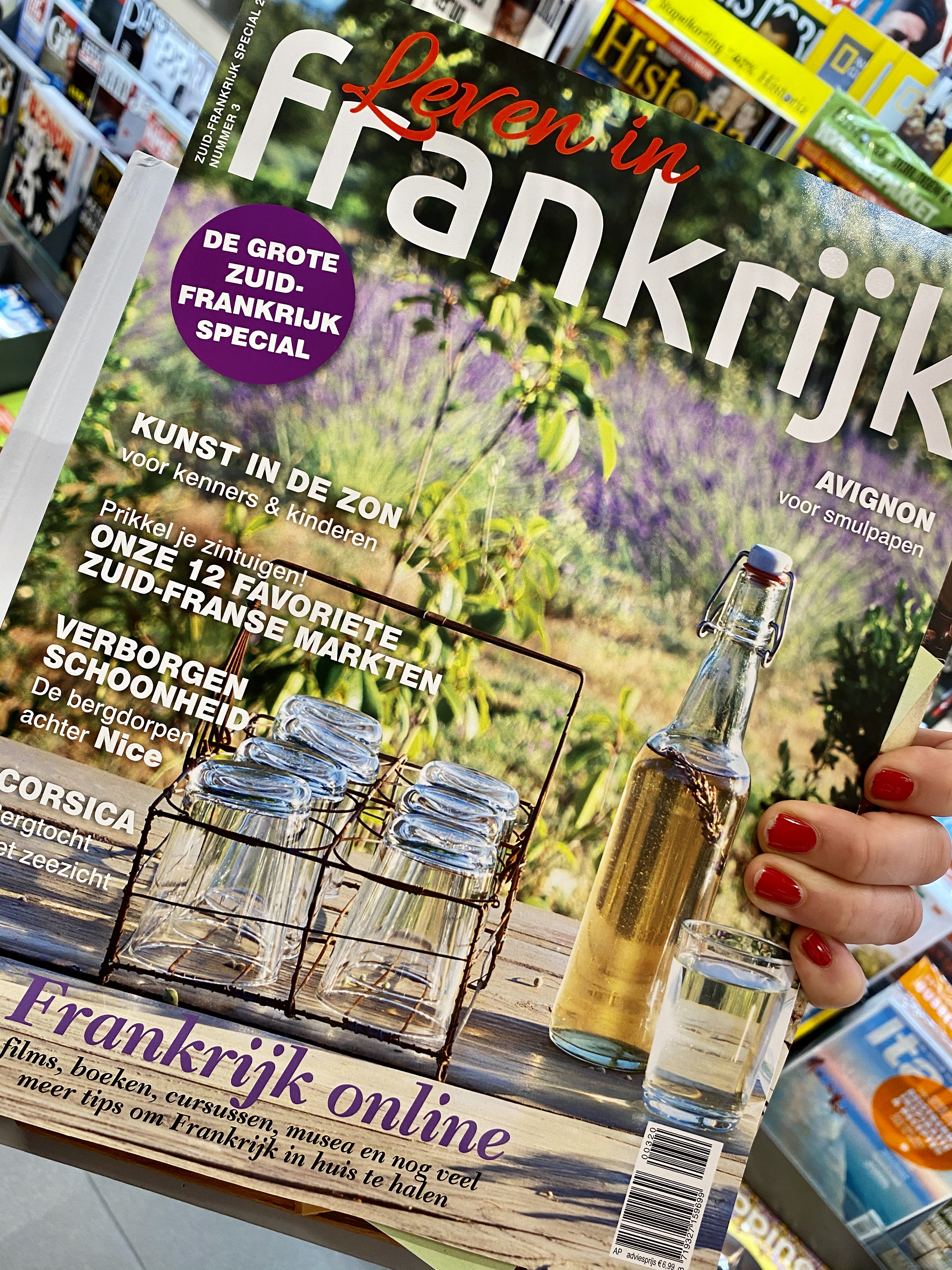 frankrijk, joie de vijver, vive la vie