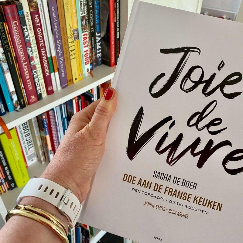 Joie de Vivre – Een kookboek voor echte Frankrijk  liefhebbers