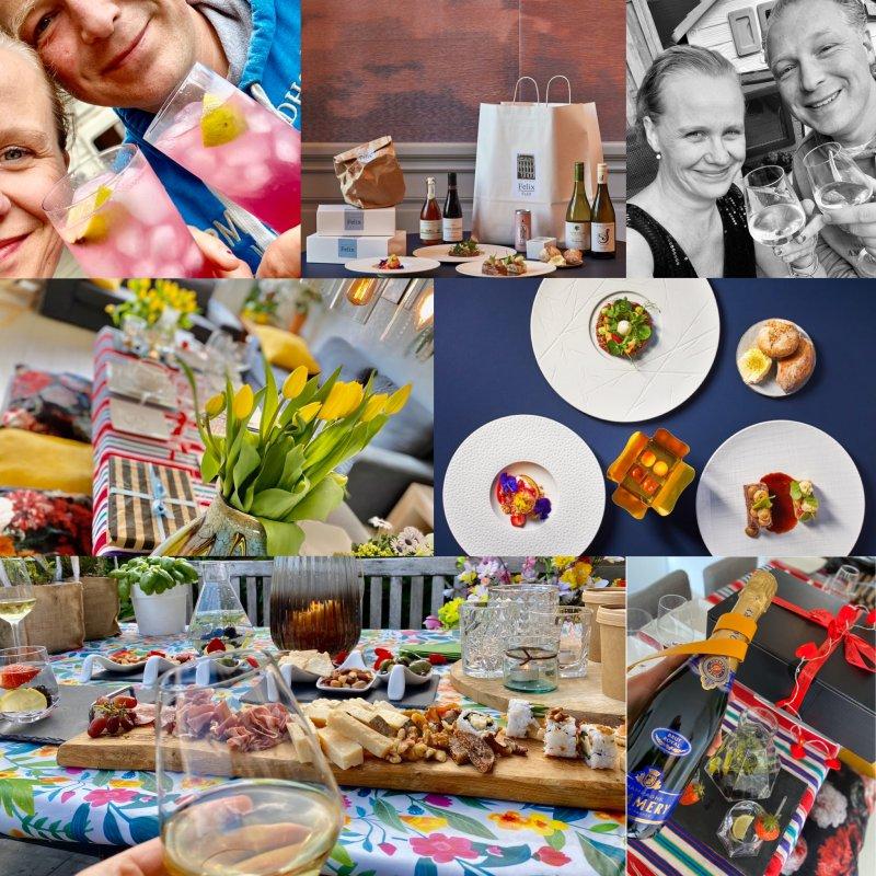 Zeven verrassingen voor m'n sidekick, waaronder een diner van Felix, borrelplateau & cocktailbox