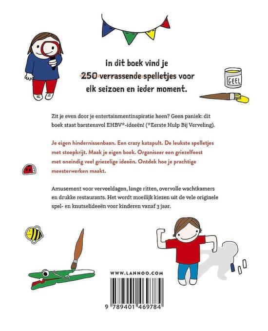 anti-verveel boek, vervelen, knutselen, creatief
