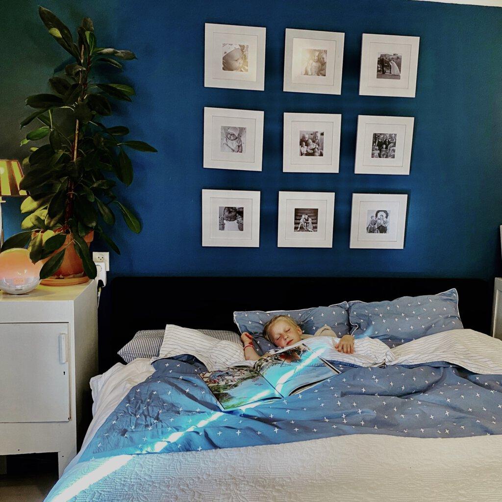 walra, dekbedovertrek, slapen, slaapkamer