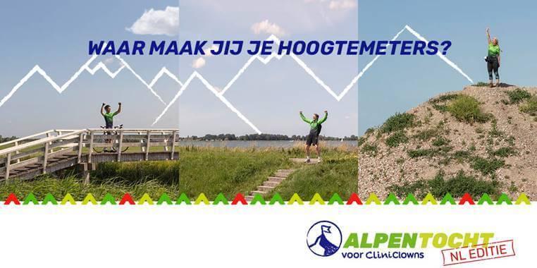 Doe je mee met de Alpentocht NL editie voor CliniCLowns?