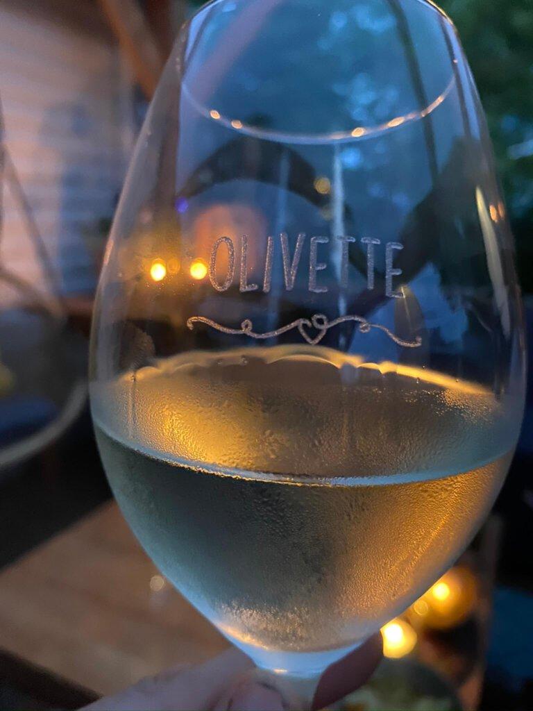 olivette, bullby, wijnglazen, gepersonaliseerd