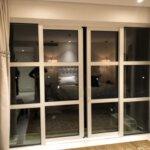 glazen schuifwanden, uitbouw, interieur, make-over, huisje