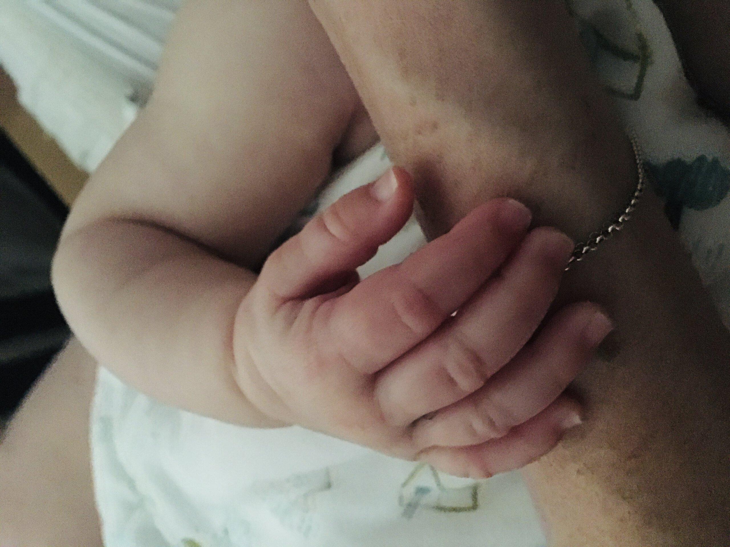 hand baby arm kinderen