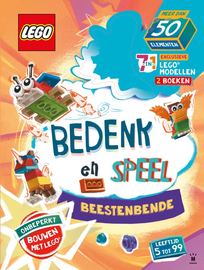 Ga samen aan de slag met deze LEGO 'Bedenk en speel'-box!