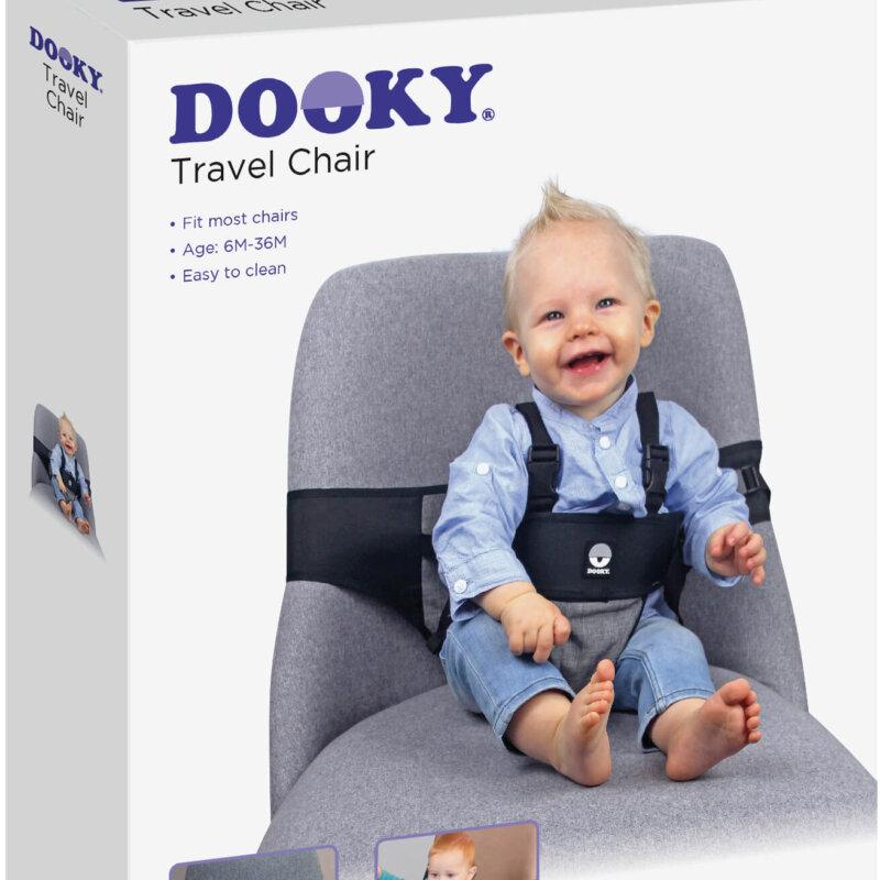 Nieuw: Dooky Travel Chair om altijd een compacte kinderstoel bij de hand te hebben