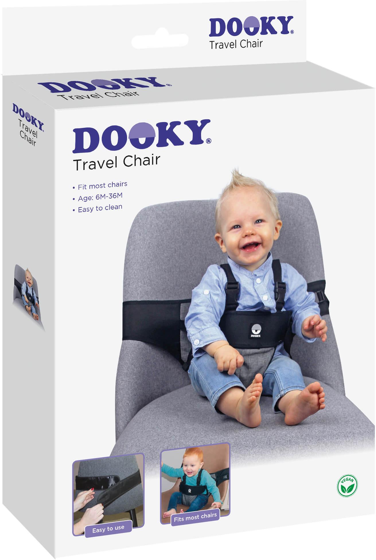 Dooky, travel chair, gadget
