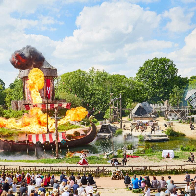 Puy du Fou nummer 2 pretpark van de wereld bij TripAdvisor's Travellers' Choice Awards 2020