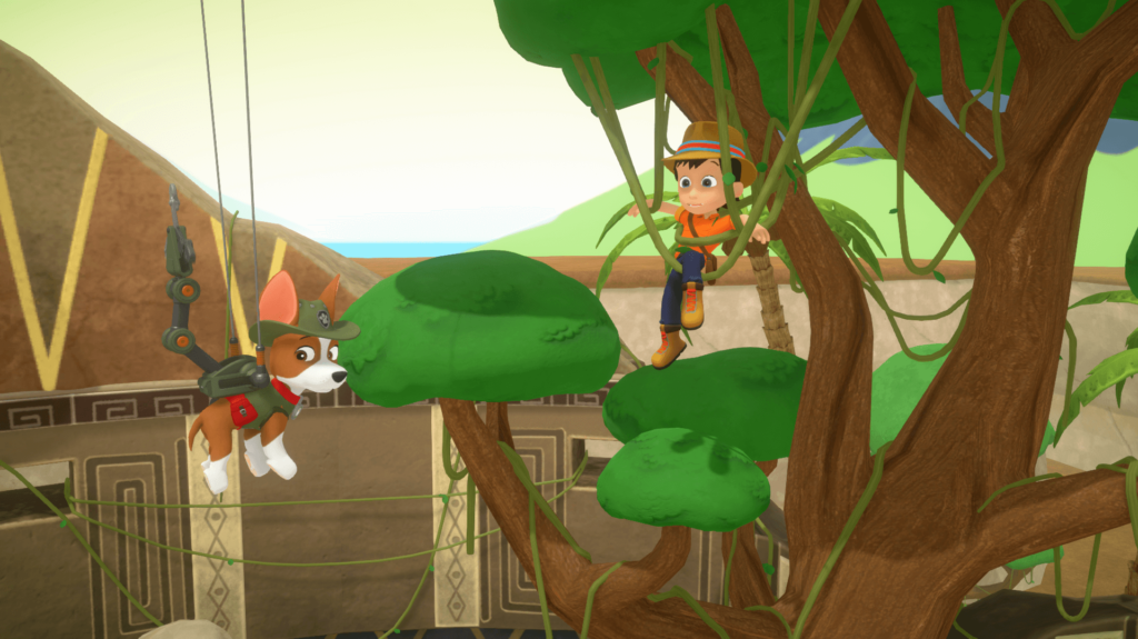 PAW PATROL: MIGHTY PUPS SAVE ADVENTURE BAY', Paw patrol, Nickelodeon, switch, pups, videogame