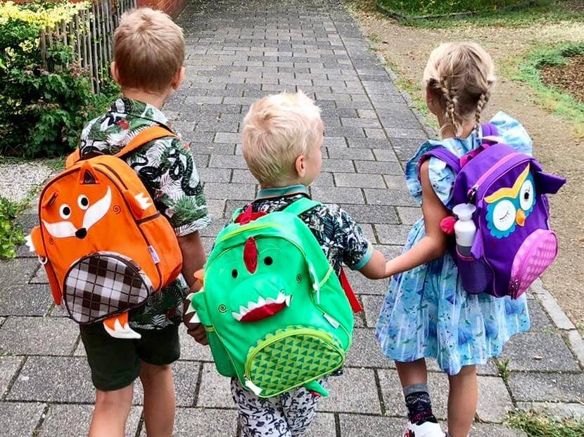 zoocchini, rugzak, back to school, eerste schooldag, vier jaar