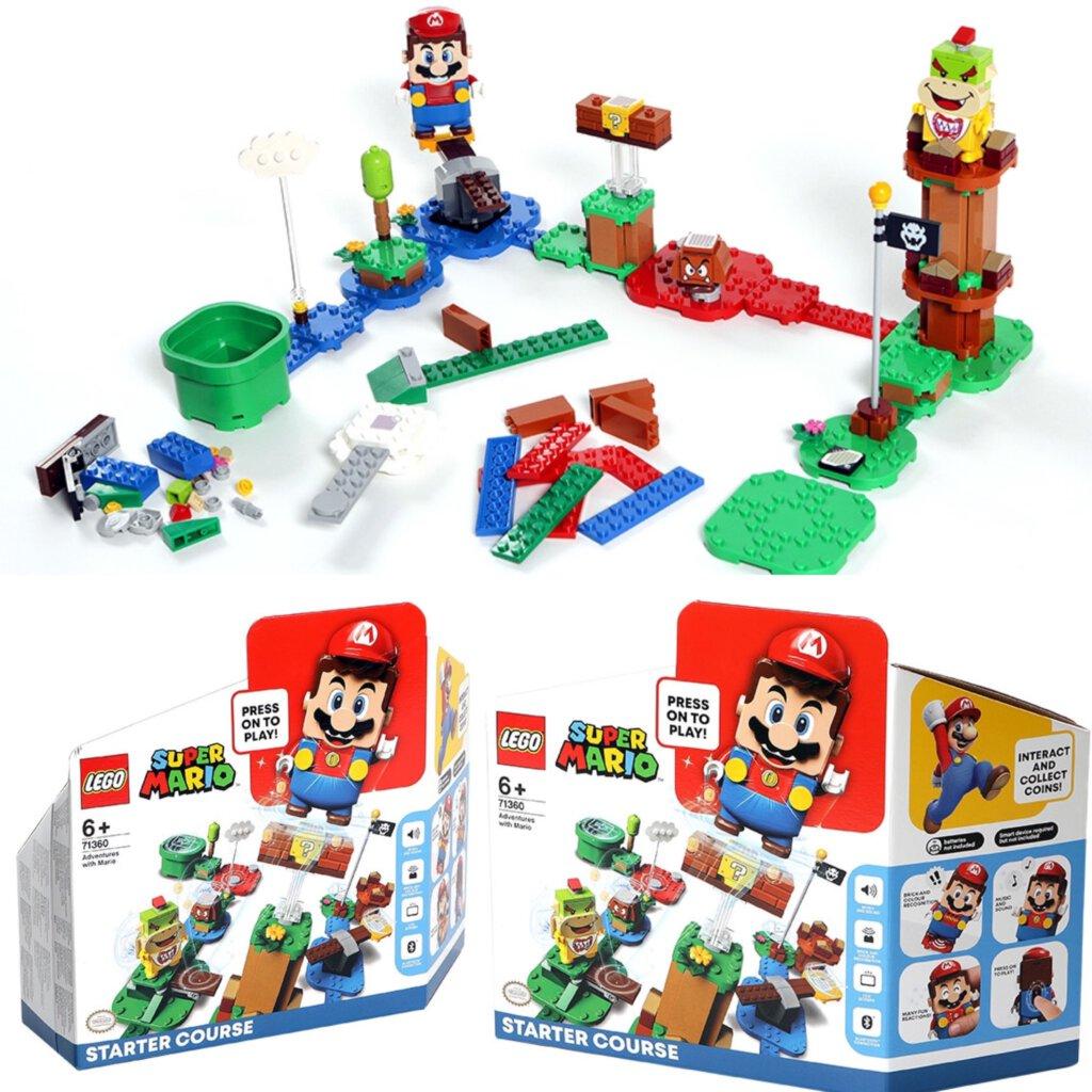 Mario starter set, mario, Nintendo, super mario, Nintendo switch, lego, licensing