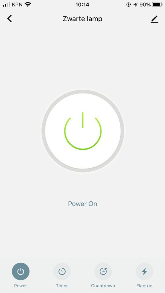 Screenshot Nedis Smartlife Smart plug