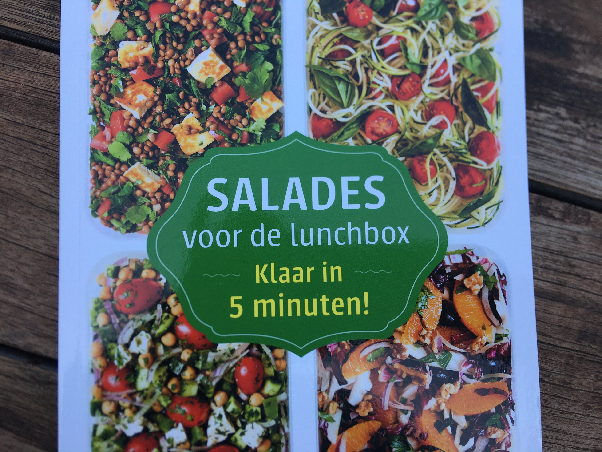 salade voor de lunchbox