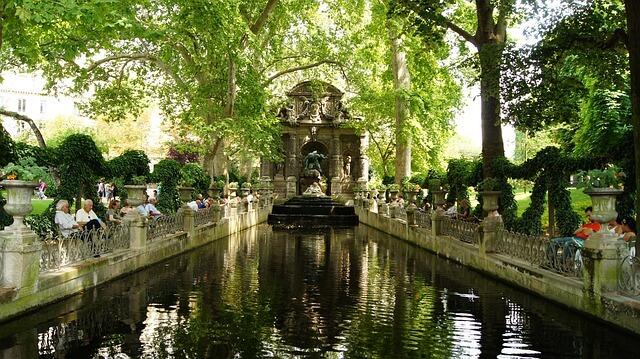 parc luxembourg, paris