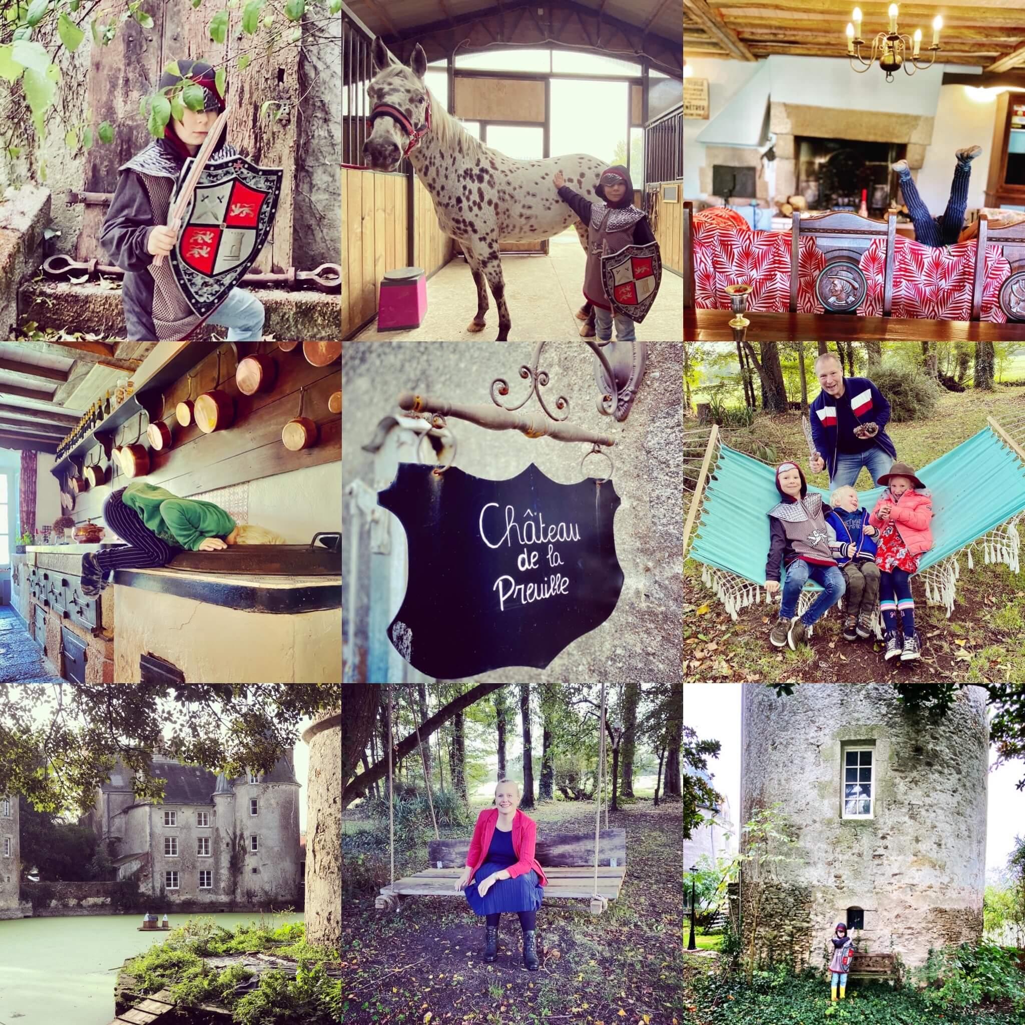 chateau de la preuille, souza for kids, prins, kasteel es, ridder, frankrijk