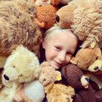 Snurk, teddybeer, teddyberendag,beddengoed, slapen, bedritueel, flanel, amsterdam
