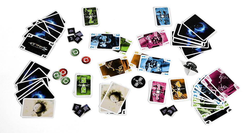 Overview Coöperatief kaartspel De Crew
