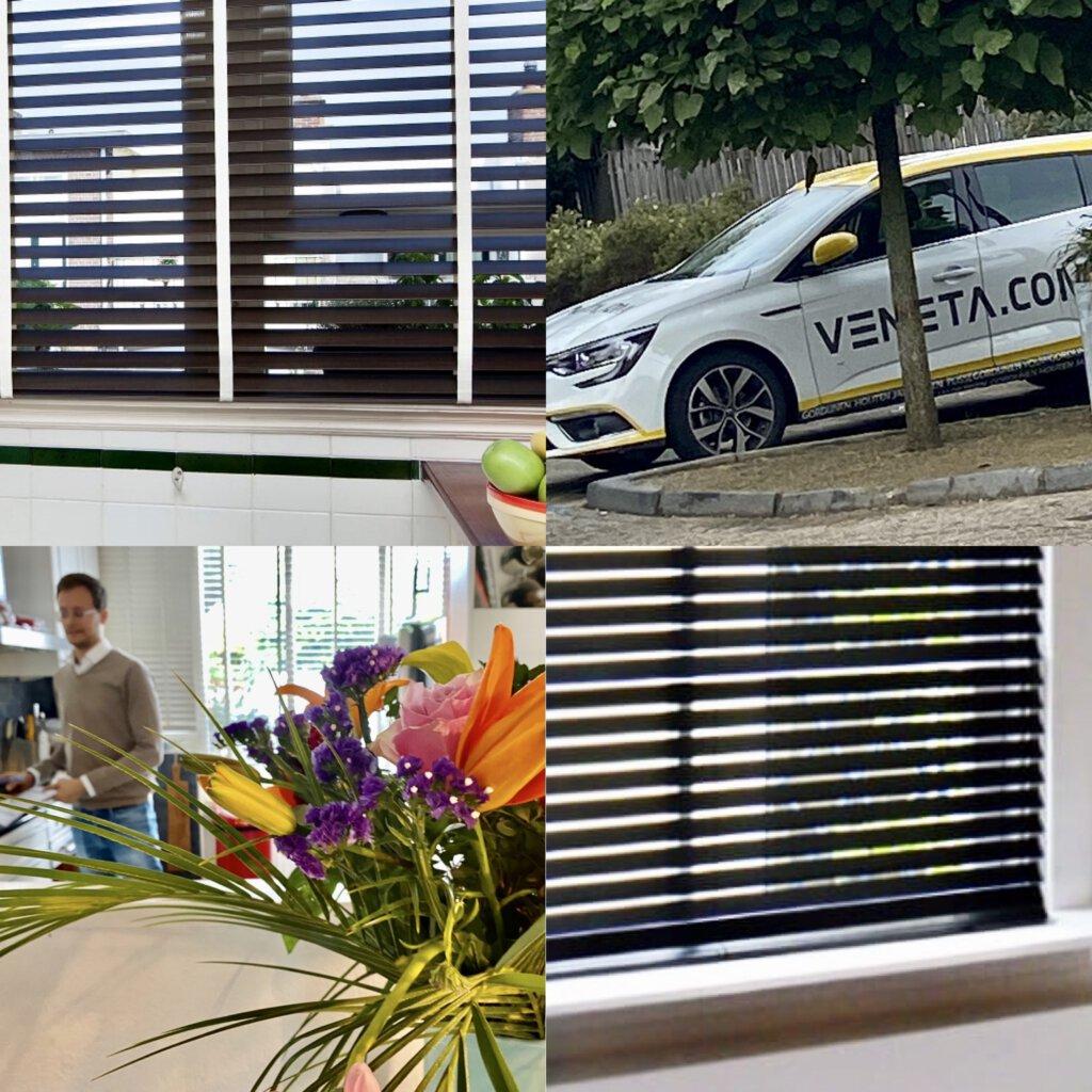 Veneta.com, raambekleding , jaloezie, interieur