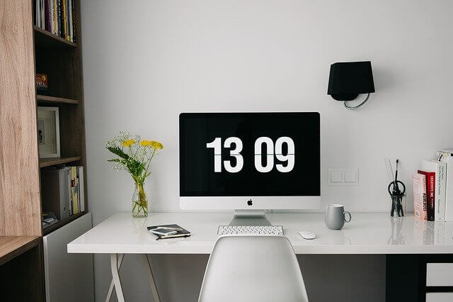 thuiswerken, werkplek, ergonomisch