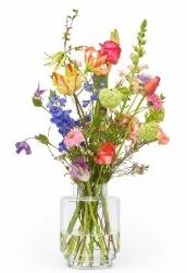 Vibrator, vaas, bloemen