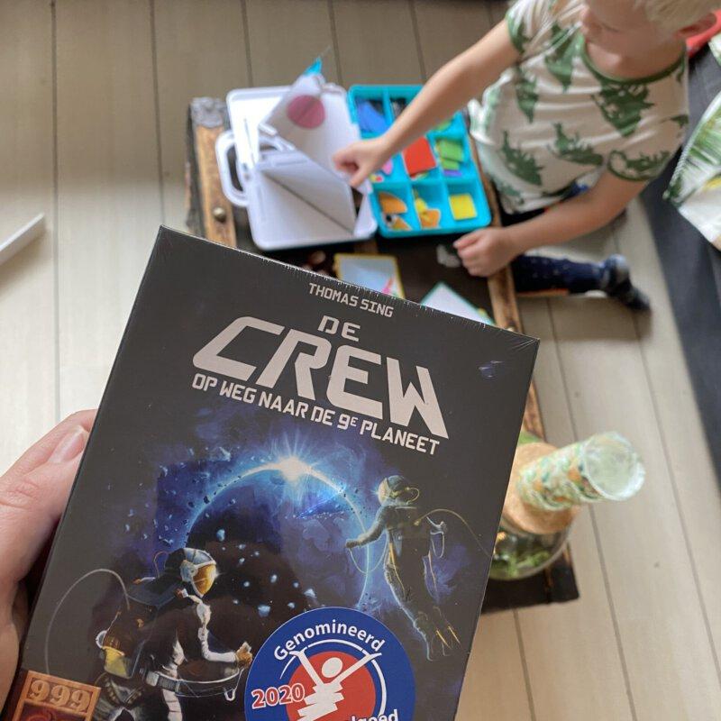 Met het coöperatieve kaartspel De Crew (18+) gaan we op ruimte missie