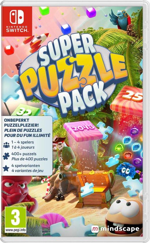 Onbeperkt puzzelplezier op de Nintendo Switch met de Super Puzzle Pack