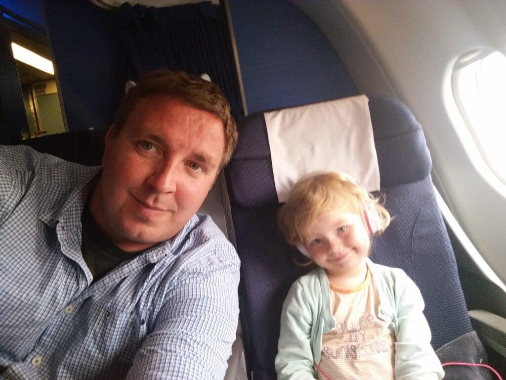 stabilo, vliegen met kinderen, klm